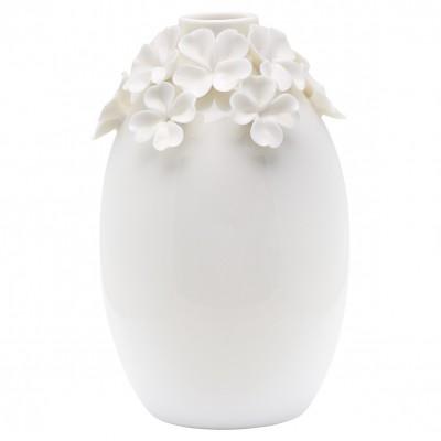 Ваза с цветами white large