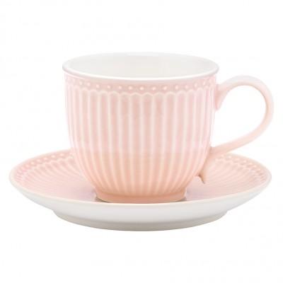 Чайная пара Alice pale pink
