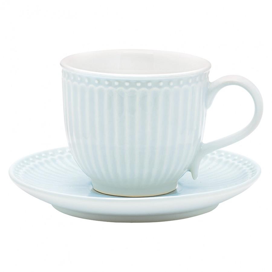 Чайная пара Alice pale blue