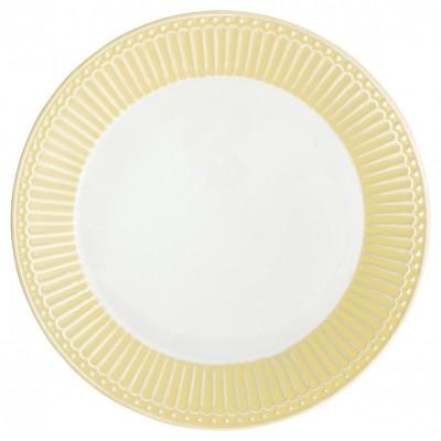 Тарелка Alice pale yellow