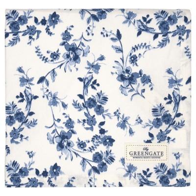 Скатерть Vanessa blue 150x150 см