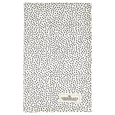 Полотенце Dot black 50x70 см