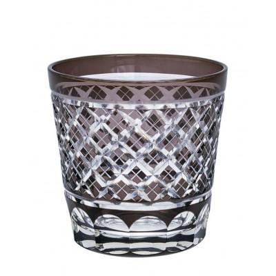 Стакан Cross grey crystal medium