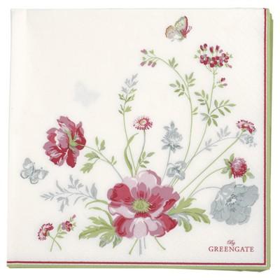 Салфетки бумажные Meadow white 33x33 20 шт.
