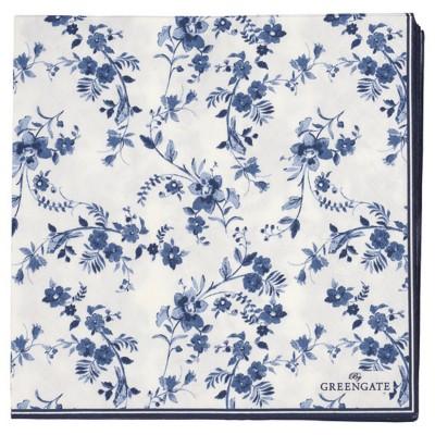 Салфетки бумажные Vanessa blue 33x33 20 шт.