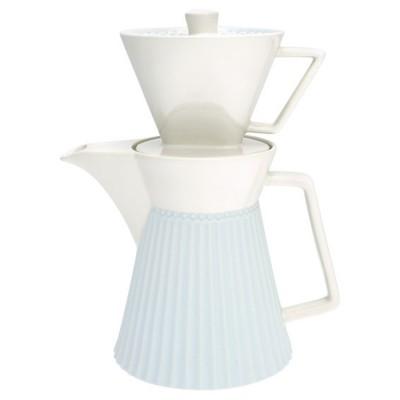 Кофейник Alice pale blue