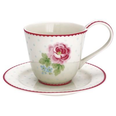 Чайная пара Lily white