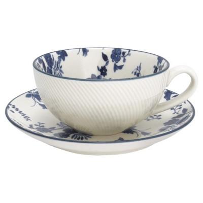 Чайная пара Vanessa blue