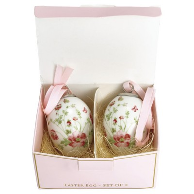 Набор декоративных яиц Meadow white 2 шт.