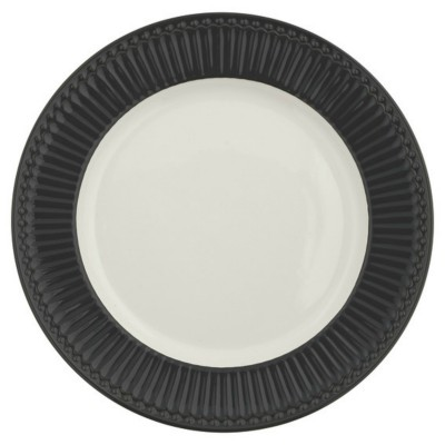Блюдо Alice dark grey 27 см
