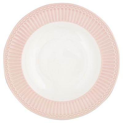 Глубокая тарелка Alice pale pink