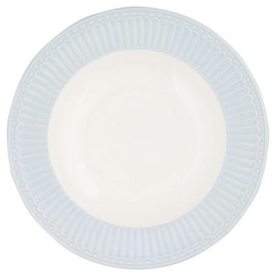 Глубокая тарелка Alice pale blue