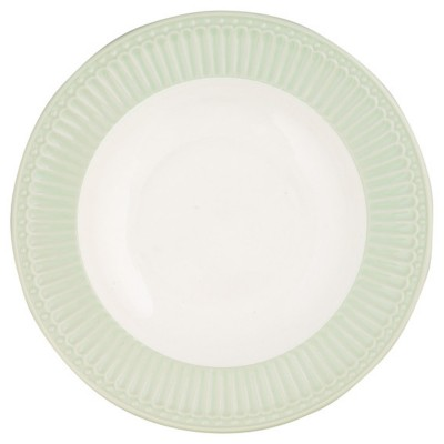 Глубокая тарелка Alice pale green 21,5 см