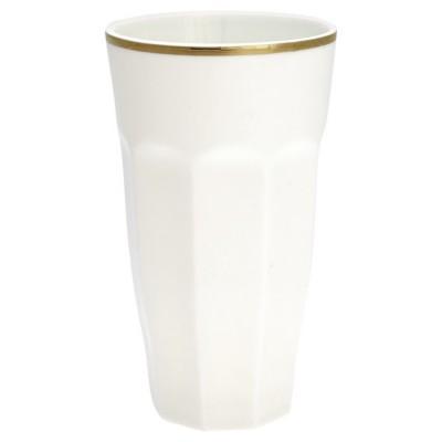 Стакан для латте white w/gold