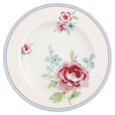 Десертная тарелка, блюдце Meryl white