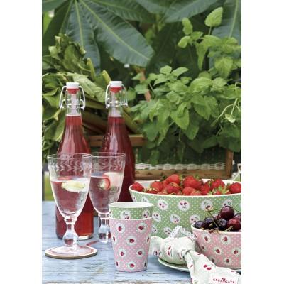 Бамбуковый стакан Cherry berry p.green
