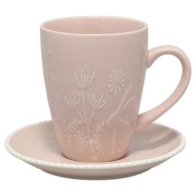 Чайная пара Evy pale pink