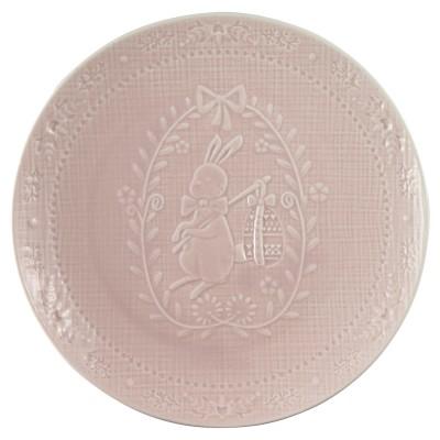 Тарелка Evy pale pink 20,5 см