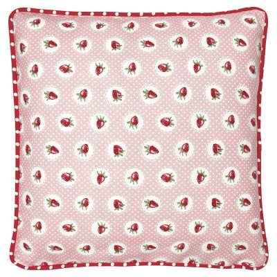 Наволочка Strawberry pale pink 40x40 см