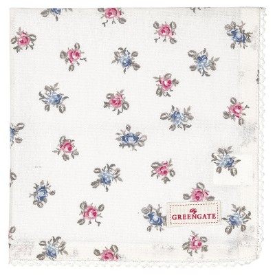Салфетка Hailey petit white 40x40 см