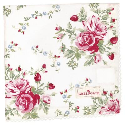 Салфетка Mary white 40x40 см