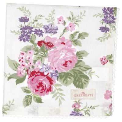 Салфетка Rose white 40x40 см