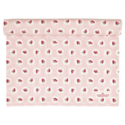 Столовая дорожка Strawberry pale pink 45x140 см