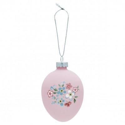 Подвесное декоративное яйцо Meryl pale pink