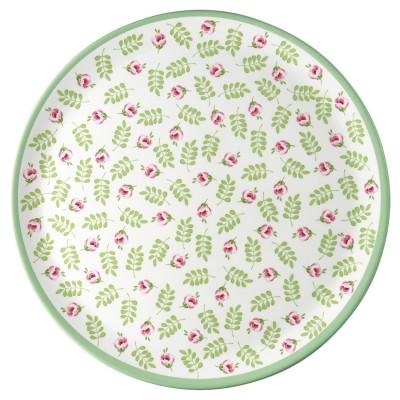 Блюдо Lily petit white 25 см меламин