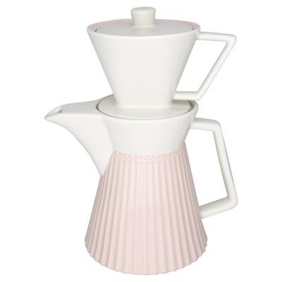 Кофейник Alice pale pink