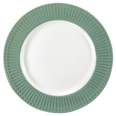 Блюдо Alice dusty green 27 см