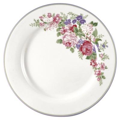 Блюдо Rose white 25 см