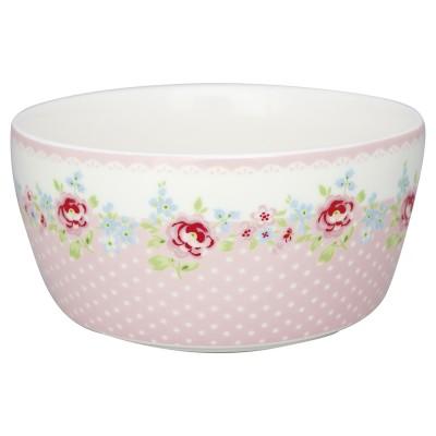 Детская пиала Meryl pale pink 12 см