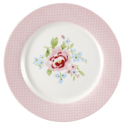 Детская тарелка Meryl pale pink 20,5 см