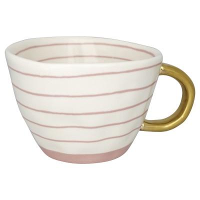 Кружка Sally pale pink w/gold