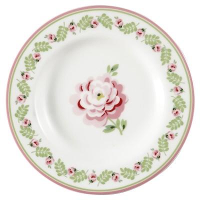 Десертная тарелка Lily petit white 15 см
