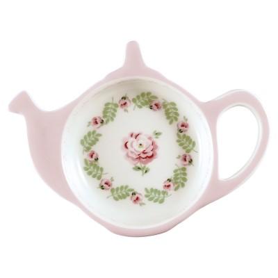 Блюдце для чайных пакетиков Lily petit white