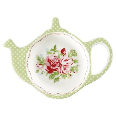 Блюдце для чайных пакетиков Mary white
