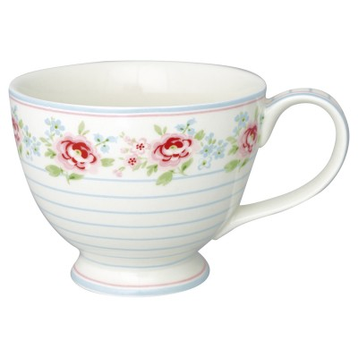 Чайная чашка Meryl mega white 400 мл