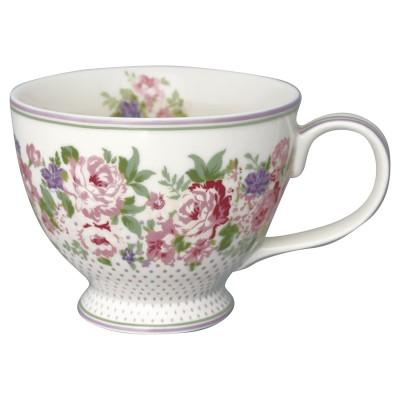 Чайная чашка Rose white 400 мл