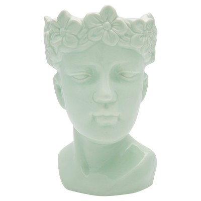 Ваза Face pale green small