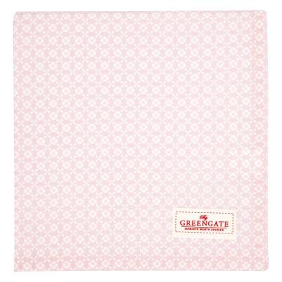 Скатерть Helle pale pink 100х100 см