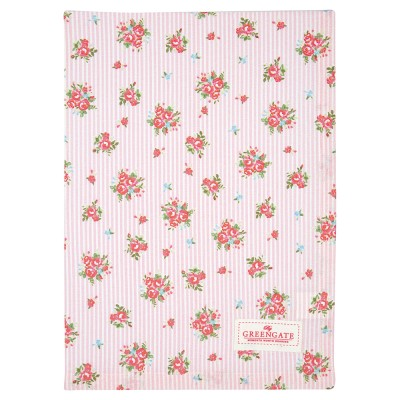 Полотенце Abigail stripe pale pink 50х70 см
