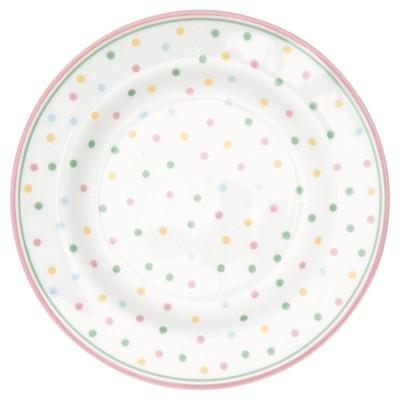 Десертная тарелка Bonnie white 15 см