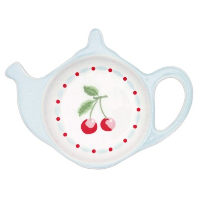 Блюдце для чайных пакетиков Cherie white