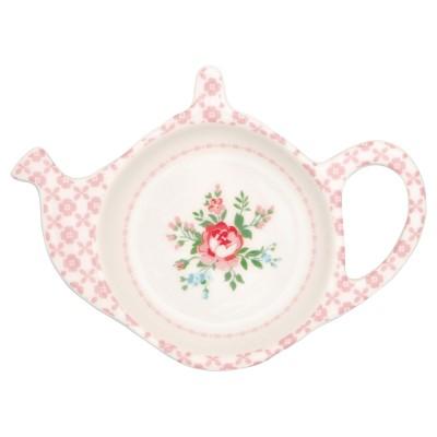 Блюдце для чайных пакетиков Gabby white