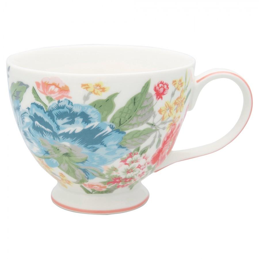Чайная чашка Adele white 400 мл