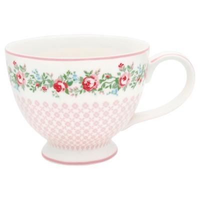 Чайная чашка Gabby white 400 мл