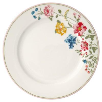 Блюдо Thilde white 25 см