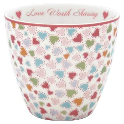 Стакан Love pastel mix 300 мл